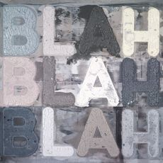 Mel BOCHNER - Pintura - BLAH BLAH BLAH