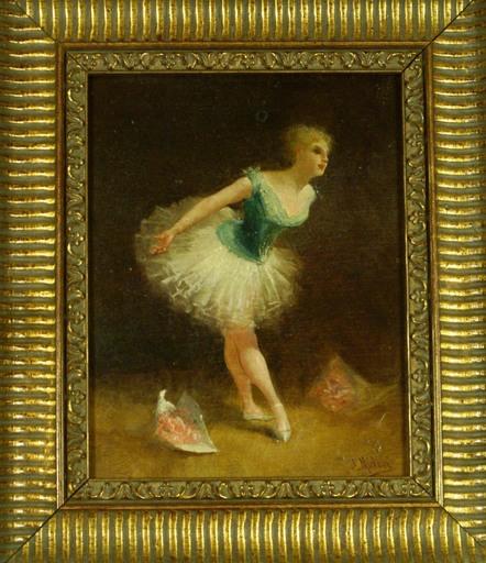 Just MICHELLI - Gemälde - la danseuse