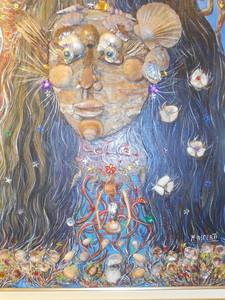 Mireille ASPERTI - Painting - L'HOMME DES MERS