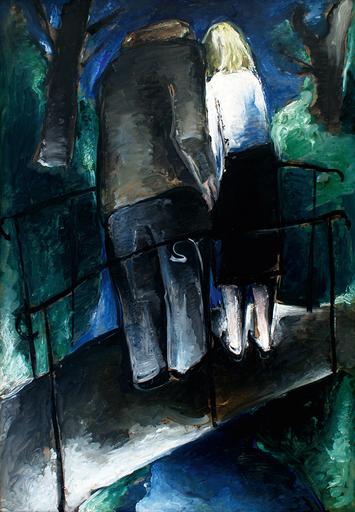 Werner SCHOLZ - Painting - Tiergartenbrücke