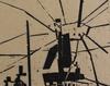 Lyonel FEININGER - Grabado -  On the Quay | Am Quai