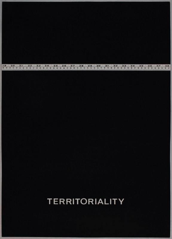Vincenzo AGNETTI - Estampe-Multiple - Territoriality