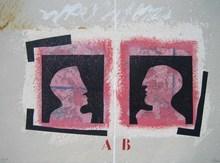 James COIGNARD - Grabado - STRUCTURE BRISEE