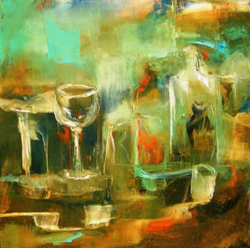 Josette DUBOST - Pittura - Transparences