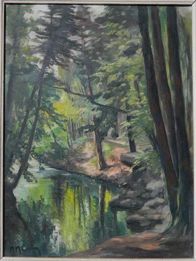 Marcel MASSON - Pintura - PAYSAGE