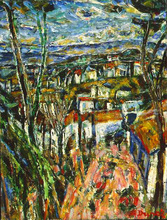 Auguste DUREL - Painting - paysage de Provence (N°12)