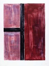昆特•福格 - 版画 - Red composition
