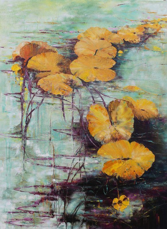 Nadine PILLON - Painting - Parfaite transparence