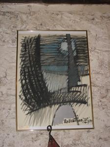 Jacques SIMON - Dibujo Acuarela - EXECUTION