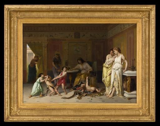 Joseph COOMANS - Painting - Une Arrestation