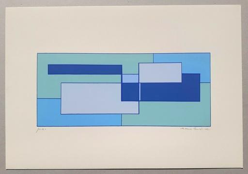 Mario RADICE - Druckgrafik-Multiple - Composizione Tav. 4