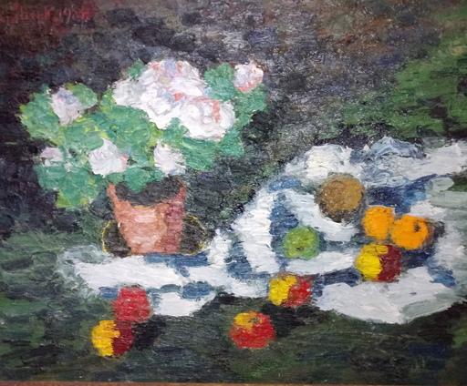 Karl STARK - Pintura - Blumenstilleben