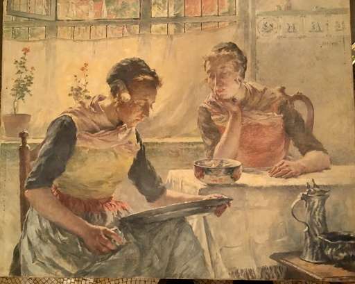 Walter MACEWEN - Painting - Hollandaise