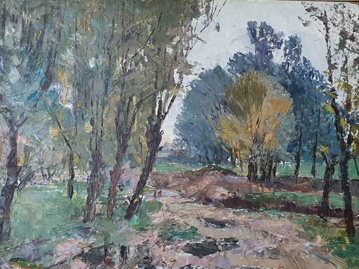 Abraham KROL - Painting - Landscape