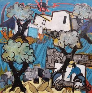Claude VENARD - Pittura - Mas Povençale