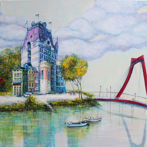 Irina VOLOVA - Painting - Perfect eiland    (Cat N° 6584)