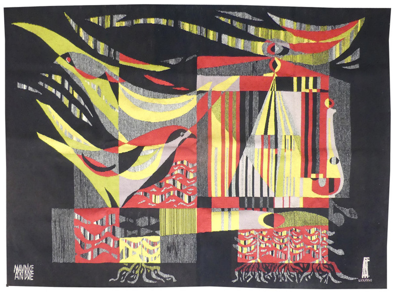 Maurice ANDRÉ - Tapestry - Composition