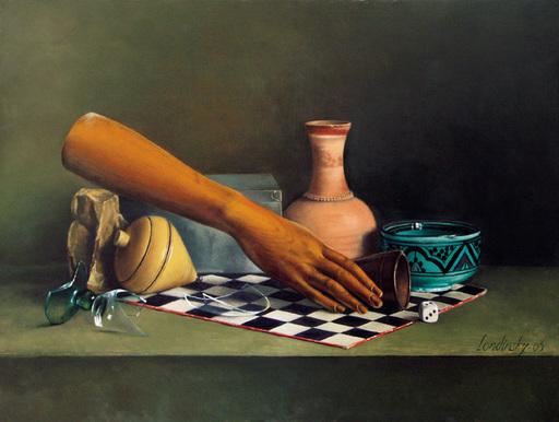 Bernard LONDINSKY - Pintura - La force du destin