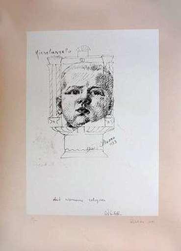 Michelangelo PISTOLETTO - Estampe-Multiple - I am the third