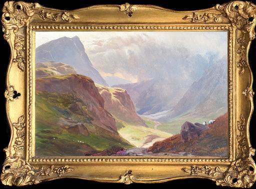 Sidney Richard PERCY - Pittura - Highland Pastures (Pair)