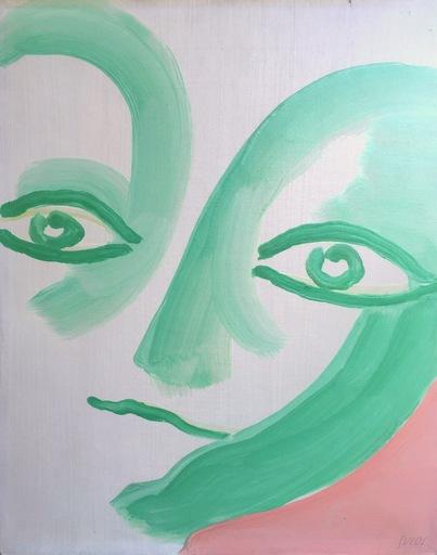 Virgilio GUIDI - Peinture - Le grandi teste