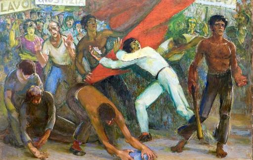 Amedeo BOCCHI - Painting - Senza Titolo