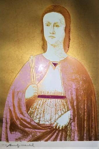安迪·沃霍尔 - 版画 - Saint Apollonia