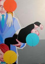 Christian SATIN - Peinture - Midget harlequin     (Cat N° 5519)