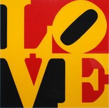 Robert INDIANA - Grabado - The German Love