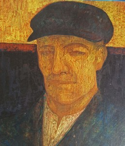 Antoon CATRIE - Painting - Portrait of a Man