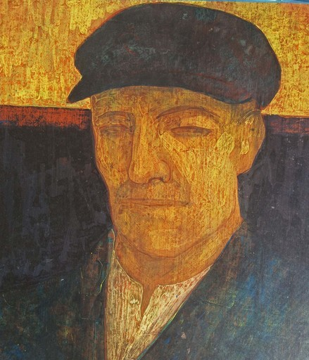 Antoon CATRIE - 绘画 - Portrait of a Man