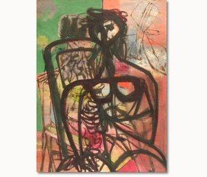 Jankel ADLER - Painting - Figure