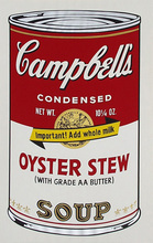 Andy WARHOL - Stampa Multiplo - Campbell´s