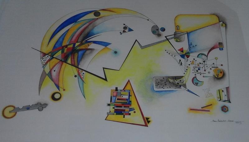Roman HAUBENSTOCK-RAMATI - Dibujo Acuarela - Musik