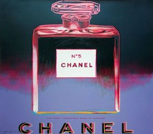 Andy WARHOL, Chanel from-the-ads-suite FS II.354