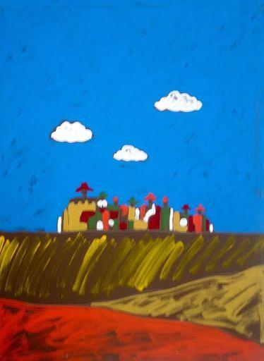 Tano FESTA - Peinture - Battaglia