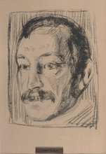"""Edvard MUNCH (1863-1944) - """"Torvald Stang I"""""""