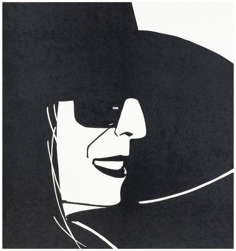 Alex KATZ - Grabado - Big Black Hat (Ada)