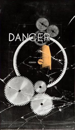 MAN RAY - Grabado - Dancer – Danger (1920 / 72)