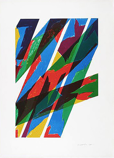 Piero DORAZIO - Druckgrafik-Multiple - Contrario