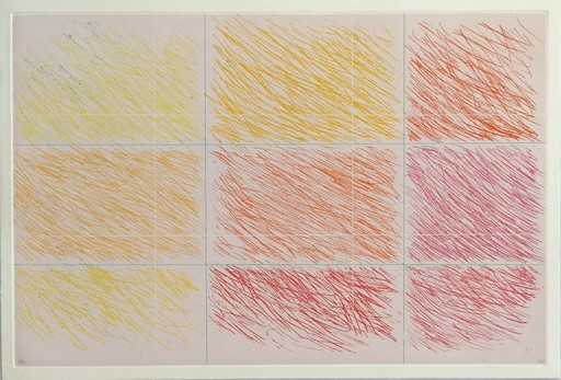 Kenneth NOLAND - Druckgrafik-Multiple - Marron