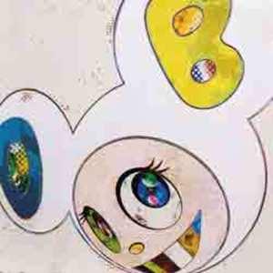 Takashi MURAKAMI, And Then x 6 (White: The Superflat Method, Blue and Yellow E