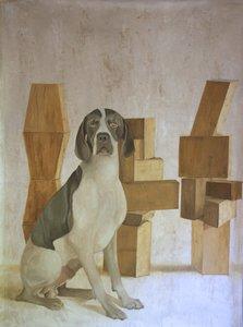 Claudine PICARD - Gemälde - Zadkine
