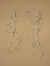 Leonor FINI - Print-Multiple - GRAVURE SIGNÉE AU CRAYON NUM EA/30 HANDSIGNED NUMB ETCHING