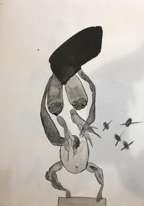 Zhenya MUZALEVSKY - 水彩作品 - Untitled II