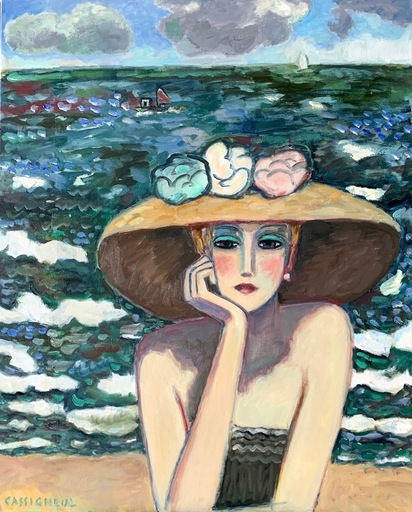 Jean-Pierre CASSIGNEUL - Painting - En Normandie