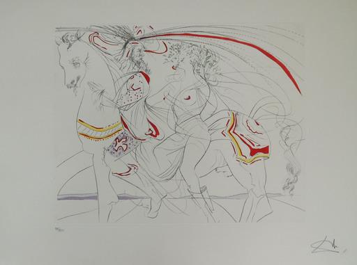 萨尔瓦多·达利 - 版画 - Nacimiento de Venus