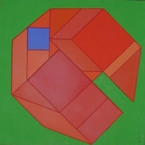 Achille PERILLI - 绘画 - Senza Fretta