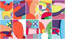 KAWS - Estampe-Multiple - No Reply (Portfolio of 10)