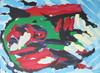 Karel APPEL - Print-Multiple - *Flying Head Over Ocean